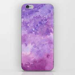 #78. STEPHANIE - Purple Ombre iPhone Skin