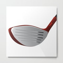 Golf Club Metal Print