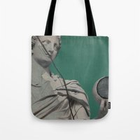 dragon ball Tote Bags featuring Ball by arantzazugcalderon