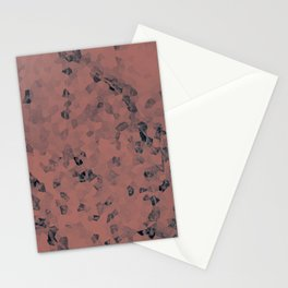 Stone coral - light Stationery Cards