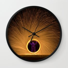 Light Man Wall Clock