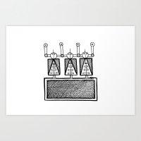 SottoSabbia/UnderSand Art Print
