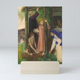 Dante Gabriel Rossetti The Passover in the Holy Family 1856 Mini Art Print