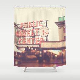 Seattle Pike Place Public Market photograph, 620 Shower Curtain