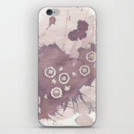 Polka Fleur iPhone Skin