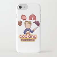 cooking iPhone & iPod Cases featuring Cooking Hannibal by Sabrina Cotugno