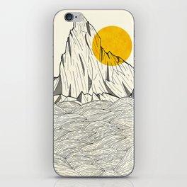 Sun Cliffs iPhone Skin