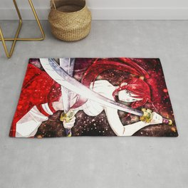 Fairy Tail Erza Scarlet Rug
