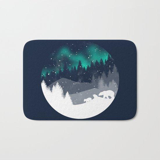 Stardust Horizon Bath Mat