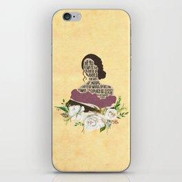 Tessa Gray - Clockwork Angel (new version) iPhone Skin