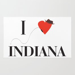 I heart Indiana Rug