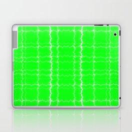 jagged, green Laptop & iPad Skin