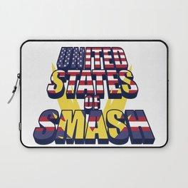 United States of Smash Laptop Sleeve