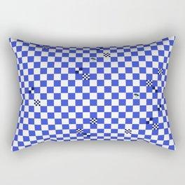 The tiler's odd sense of humor  Rectangular Pillow