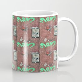 Grungy Mailbox Coffee Mug