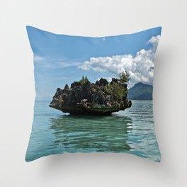 Crystal Rock, Mauritius Throw Pillow