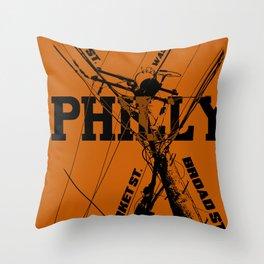 Philly Utility Throw Pillow
