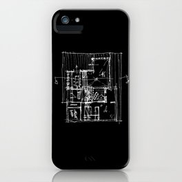 Doing my architecture job iPhone Case