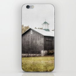 The Grey Barn iPhone Skin