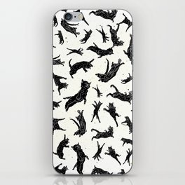 Shadow Cats Space iPhone Skin