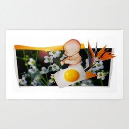 Baby Yog Art Print