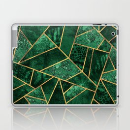 Deep Emerald Laptop & iPad Skin
