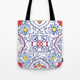 Isola Sunset Signature Print Tote Bag