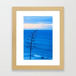 Beacons Tree Framed Art Print
