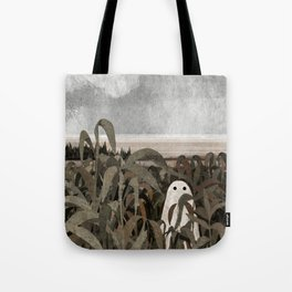 There's A Ghost in the Cornfield Again Tote Bag