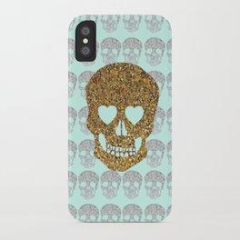 skulls & heartz;; iPhone Case