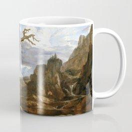 Washington Allston Elijah in the Desert Coffee Mug