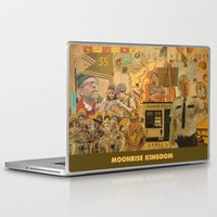 wes anderson Laptop & iPad Skins featuring Moonrise Kingdom - Wes Anderson by Smart Store