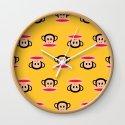 Julius Monkey Pattern by Paul Frank - Yellow by cutecutecute