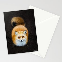 Patient Fox Stationery Cards