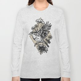 Autumn Robin Long Sleeve T-shirt
