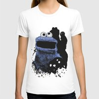 cookie monster T-shirts featuring Monster Madness: Cookie Monster by SB Art Productions
