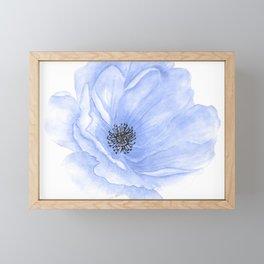 Flower 2l Framed Mini Art Print