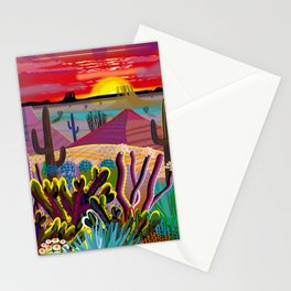 The Desert in Your Mind Stationery Cards