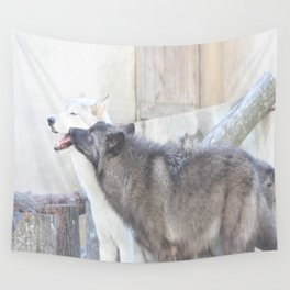 Submitting to the Alpha Wall Tapestry