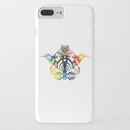 Bassnectar Family Crest (Color) iPhone Case