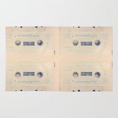 vintage cassette Rug