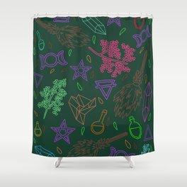 I'll curse you #2 Shower Curtain