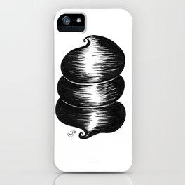 ceci n'est pas une coiffe iPhone Case