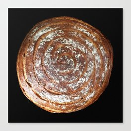 Rosemary Sourdough Spiral - 2015 Canvas Print