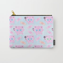 Jigglypuff pattern Carry-All Pouch