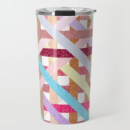 Structural Weaving Lines Travel Mug