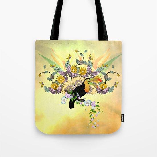 Funny toucan Tote Bag