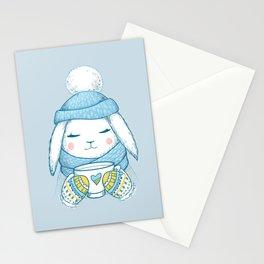Winter Rabbit Stationery Cards