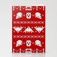 starlord Stationery Cards featuring Merry Christmas A-Holes by Perdita