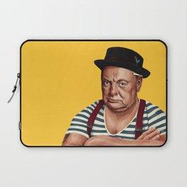 Hipstory -  Winston Churchill Laptop Sleeve